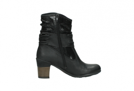 wolky mid calf boots 07741 mendez 90000 black craquele leather_12