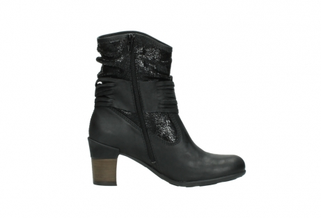 wolky mid calf boots 07741 mendez 90000 black craquele leather_13