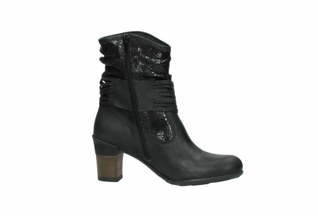 wolky mid calf boots 07741 mendez 90000 black craquele leather_14