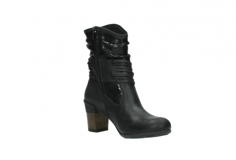 wolky mid calf boots 07741 mendez 90000 black craquele leather_16