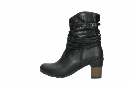 wolky mid calf boots 07741 mendez 90000 black craquele leather_2