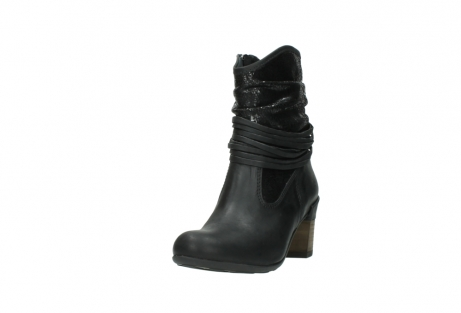 wolky mid calf boots 07741 mendez 90000 black craquele leather_21