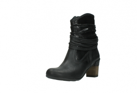 wolky mid calf boots 07741 mendez 90000 black craquele leather_22