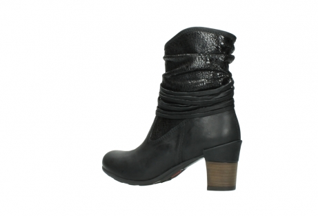 wolky mid calf boots 07741 mendez 90000 black craquele leather_3