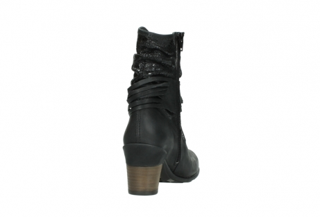 wolky mid calf boots 07741 mendez 90000 black craquele leather_8