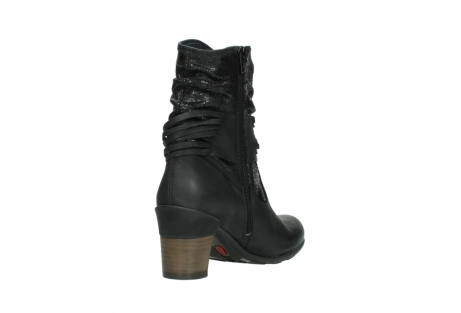 wolky mid calf boots 07741 mendez 90000 black craquele leather_9