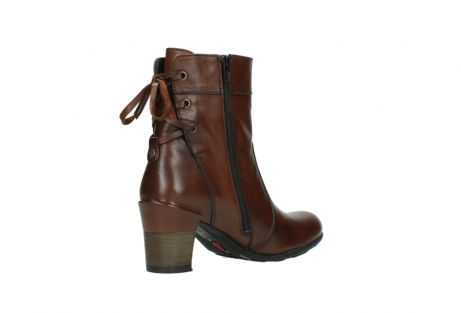 wolky mid calf boots 07745 vela 20430 cognac leather_10