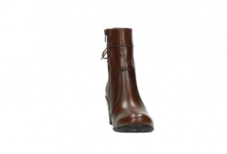 wolky mid calf boots 07745 vela 20430 cognac leather_18