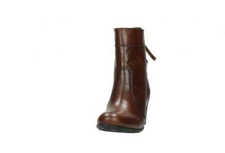 wolky mid calf boots 07745 vela 20430 cognac leather_20