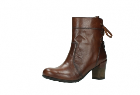 wolky mid calf boots 07745 vela 20430 cognac leather_23