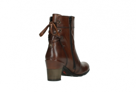 wolky mid calf boots 07745 vela 20430 cognac leather_9