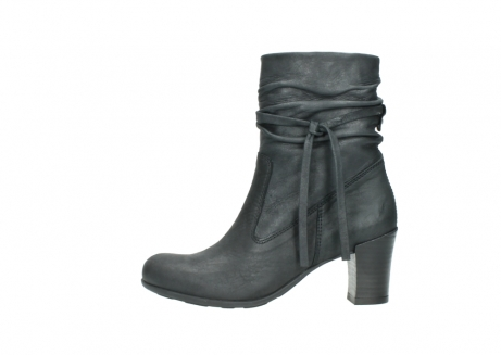 wolky mid calf boots 07747 daria 10210 mottled metallic anthracite leather_1