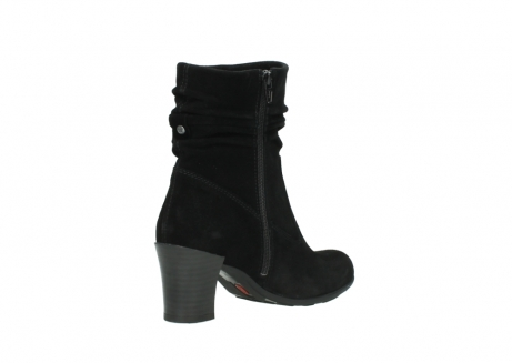wolky mid calf boots 07747 daria 40000 black oiled suede_10