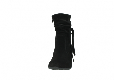 wolky mid calf boots 07747 daria 40000 black oiled suede_20