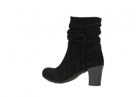wolky mid calf boots 07747 daria 40000 black oiled suede_3