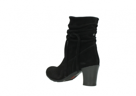 wolky mid calf boots 07747 daria 40000 black oiled suede_4