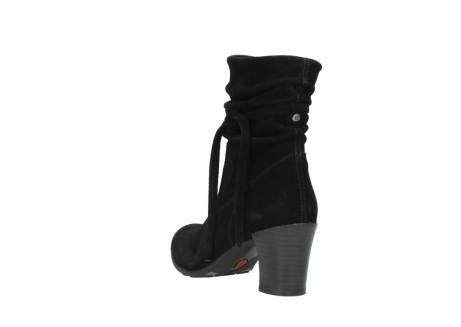 wolky mid calf boots 07747 daria 40000 black oiled suede_5