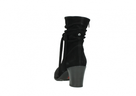 wolky mid calf boots 07747 daria 40000 black oiled suede_6