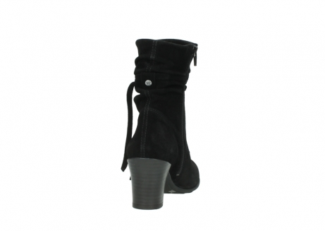 wolky mid calf boots 07747 daria 40000 black oiled suede_8