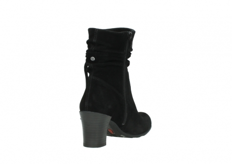 wolky mid calf boots 07747 daria 40000 black oiled suede_9