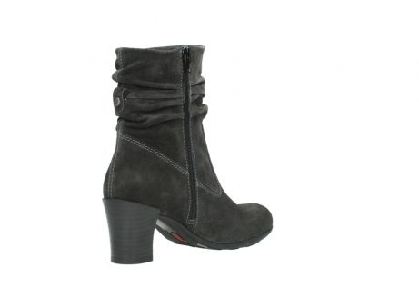 wolky mid calf boots 07747 daria 40210 anthracite oiled suede_10
