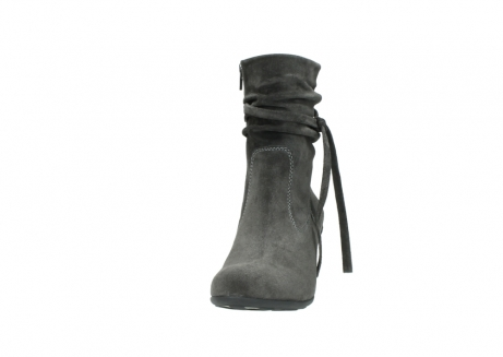 wolky mid calf boots 07747 daria 40210 anthracite oiled suede_20