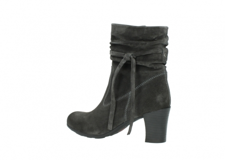 wolky mid calf boots 07747 daria 40210 anthracite oiled suede_3