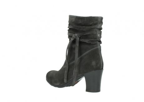 wolky mid calf boots 07747 daria 40210 anthracite oiled suede_4