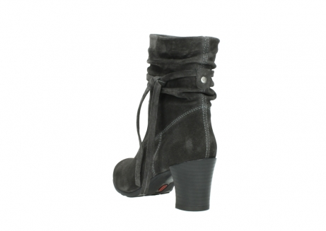 wolky mid calf boots 07747 daria 40210 anthracite oiled suede_5