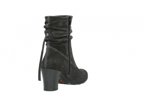 wolky mid calf boots 07747 daria 40210 anthracite oiled suede_9