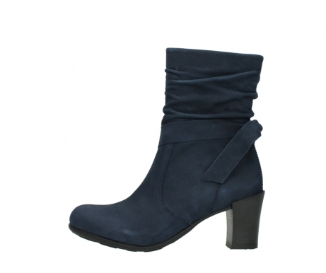 wolky mid calf boots 07750 cara 13800 blue nubuckleather_1