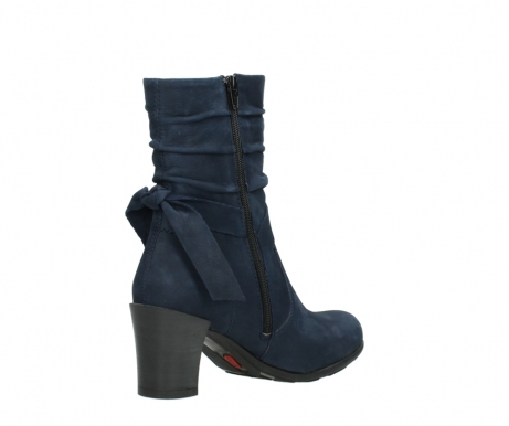 wolky mid calf boots 07750 cara 13800 blue nubuckleather_10