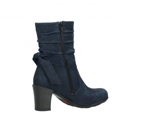 wolky mid calf boots 07750 cara 13800 blue nubuckleather_11