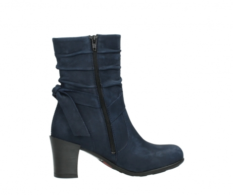 wolky mid calf boots 07750 cara 13800 blue nubuckleather_12