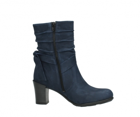 wolky mid calf boots 07750 cara 13800 blue nubuckleather_14