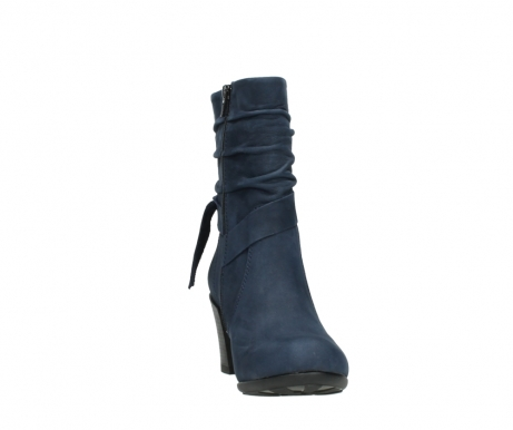 wolky mid calf boots 07750 cara 13800 blue nubuckleather_18
