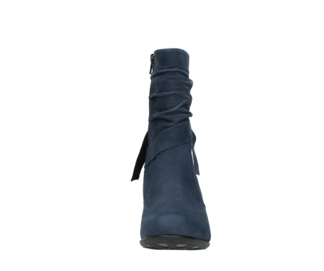 wolky mid calf boots 07750 cara 13800 blue nubuckleather_19