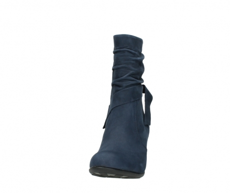 wolky mid calf boots 07750 cara 13800 blue nubuckleather_20