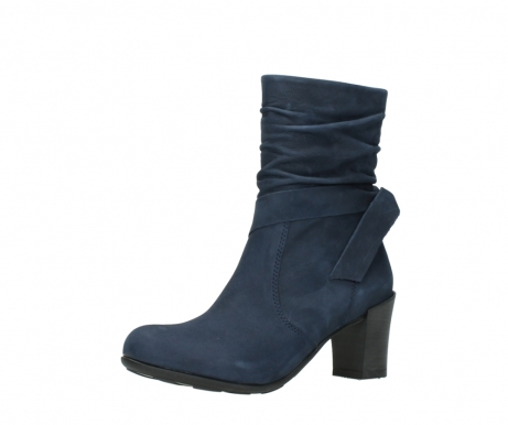 wolky mid calf boots 07750 cara 13800 blue nubuckleather_23