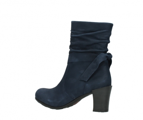 wolky mid calf boots 07750 cara 13800 blue nubuckleather_3