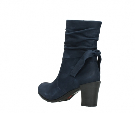 wolky mid calf boots 07750 cara 13800 blue nubuckleather_4