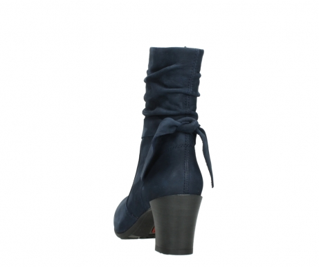 wolky mid calf boots 07750 cara 13800 blue nubuckleather_6