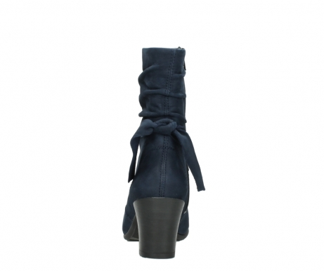 wolky mid calf boots 07750 cara 13800 blue nubuckleather_7