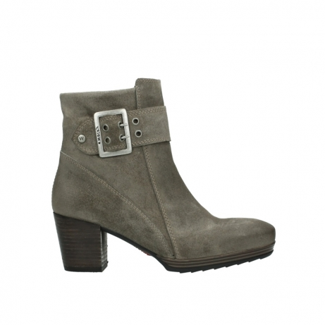 wolky halbhohe stiefel 08026 hopewell 40150 taupe geoltes veloursleder