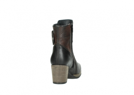 wolky mid calf boots 08026 hopewell 50300 brown oiled leather_8