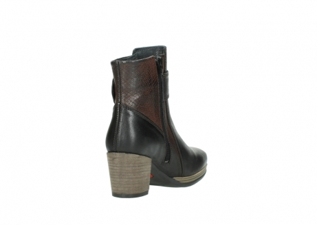 wolky mid calf boots 08026 hopewell 50300 brown oiled leather_9