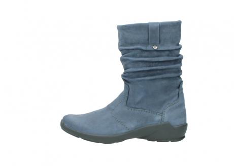 wolky halfhoge laarzen 1572 luna 180 blauw nubuck_1