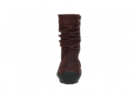wolky halbhohe stiefel 1658 jacky 551 bordeaux geoltes leder_7