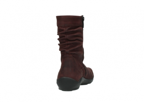 wolky halbhohe stiefel 1658 jacky 551 bordeaux geoltes leder_8