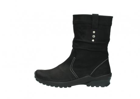 wolky halfhoge laarzen 1732 bryce 500 zwart geolied leer_1